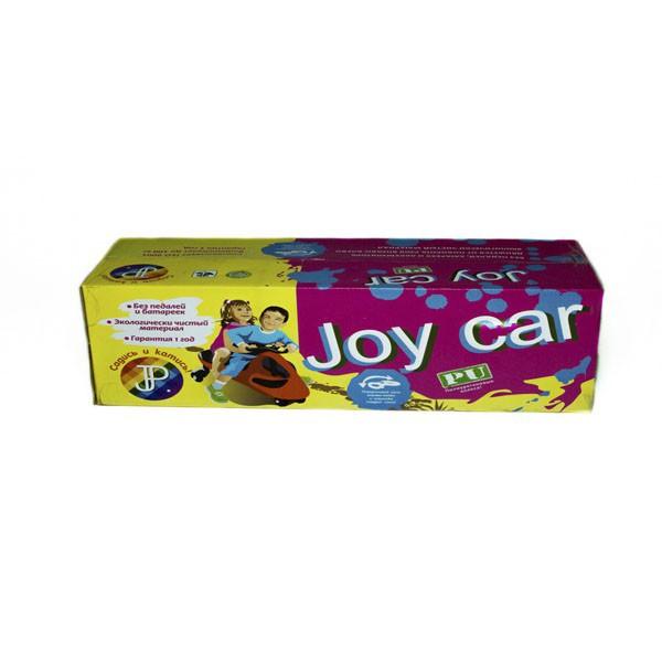 Машинка детская Joy Car с полиуретановыми колесами синяя