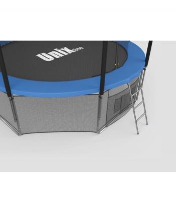 Дачный Пружинный Батут Unix 10 ft inside blue