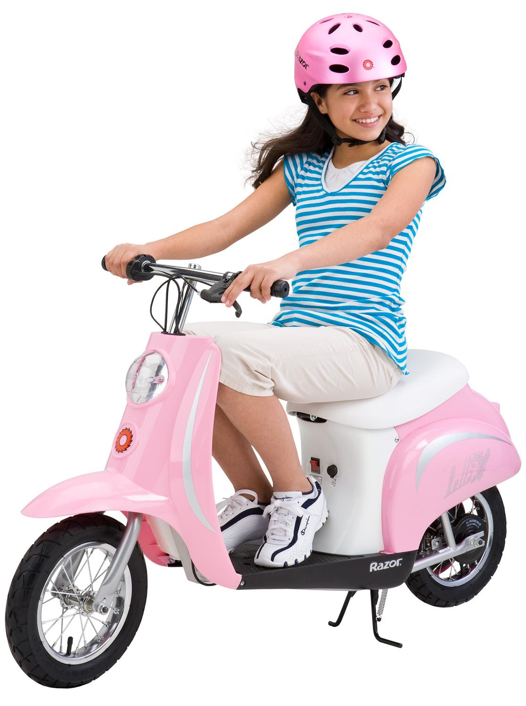 Электромотоцикл для девочек Razor Pocket Mod Bella