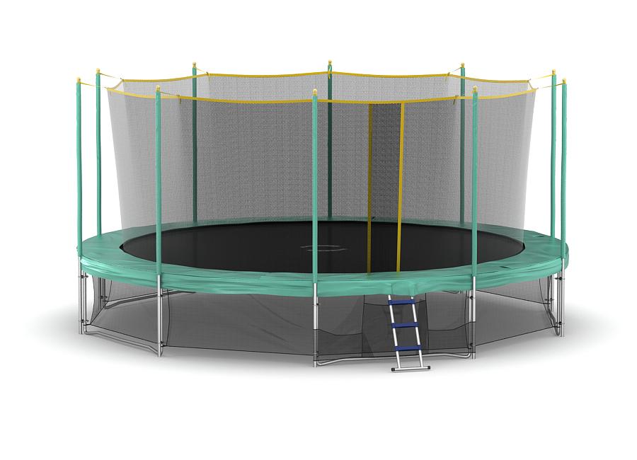 Каркасный батут с сеткой Hasttings 15 ft 4,57 м