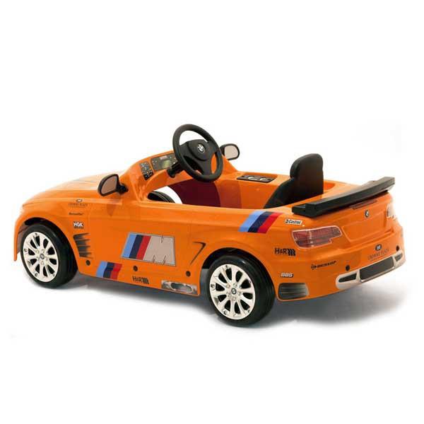 Детская педальная машина Toys Toys BMW M3 GT Orange