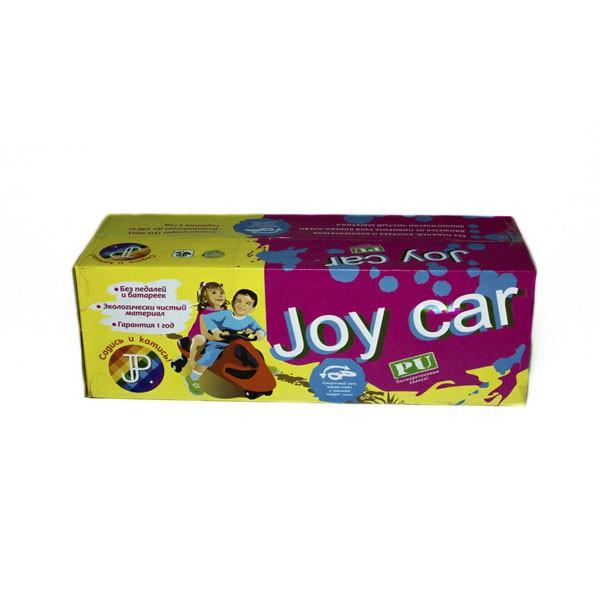 Машинка детская Joy Car с полиуретановыми колесами фиолетовая