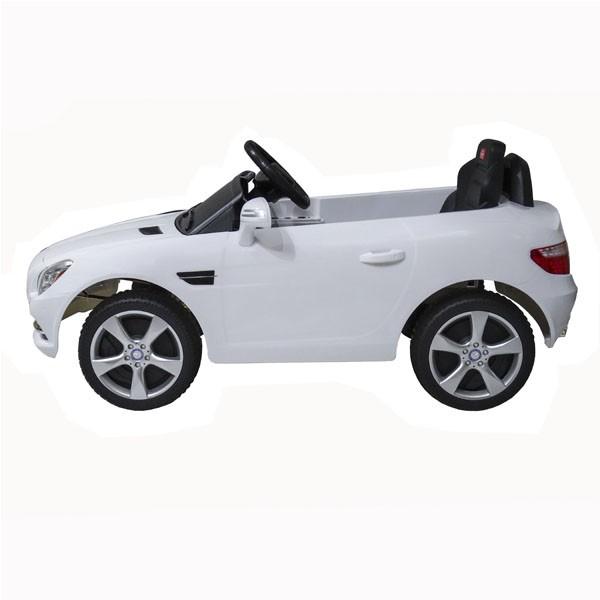 Детский электромобиль на радиоуправлении Rastar Mercedes-Benz SLK белый