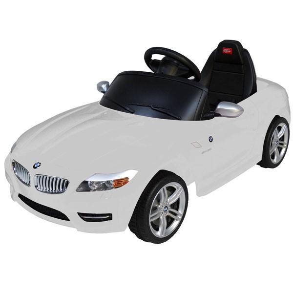 Детский электромобиль на радиоуправлении Rastar BMW Z4 белый
