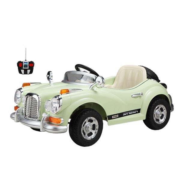 Ретромобиль Bentley-S2 12v7AH радио управляемый цвет мятный крем