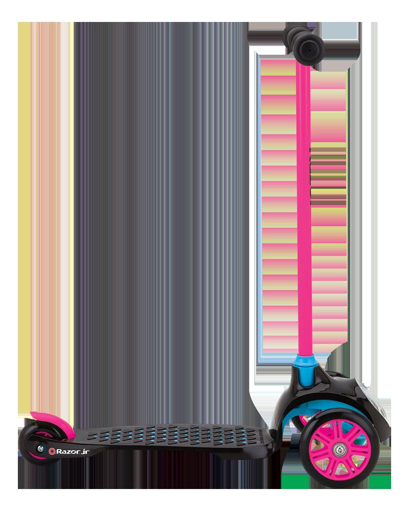 Трёхколёсный самокат Razor T3 Розовый