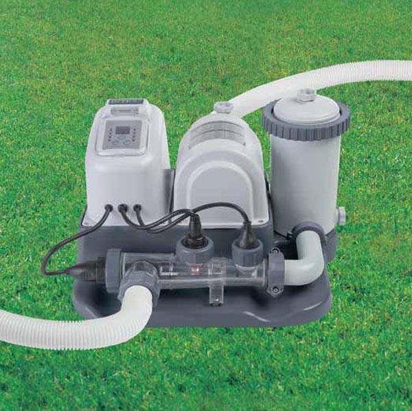 Хлорогенератор с фильтр-насосом арт 54616
