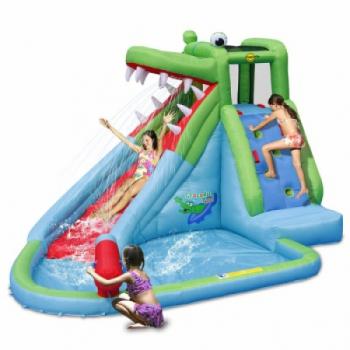 Детский надувной Батут HAPPY HOP Крокодильчик 9240