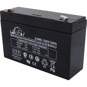 Аккумулятор для детских электромобилей 6V12Ah Leoch
