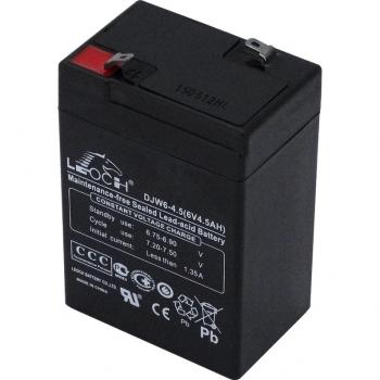 Аккумулятор для детских электромобилей 6v 4,5ah Leoch