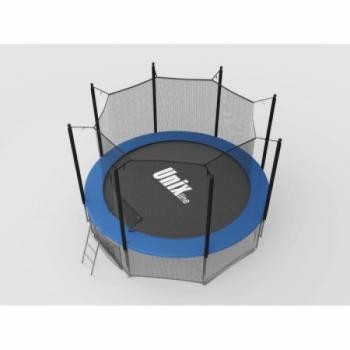Дачный Пружинный Батут Unix 8 ft inside blue