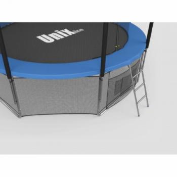 Дачный Пружинный Батут Unix 14 ft inside blue