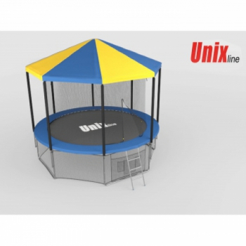 Крыша для батута Unix 8 ft inside blue
