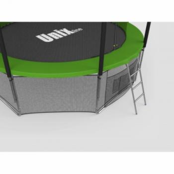Дачный Пружинный Батут Unix 14 ft inside green