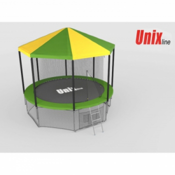 Крыша для батута Unix 8 ft inside green