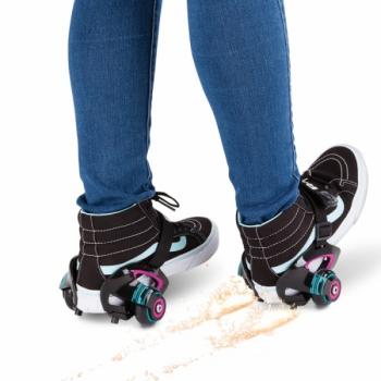 Ролики на обувь Razor Jetts Пурпурный