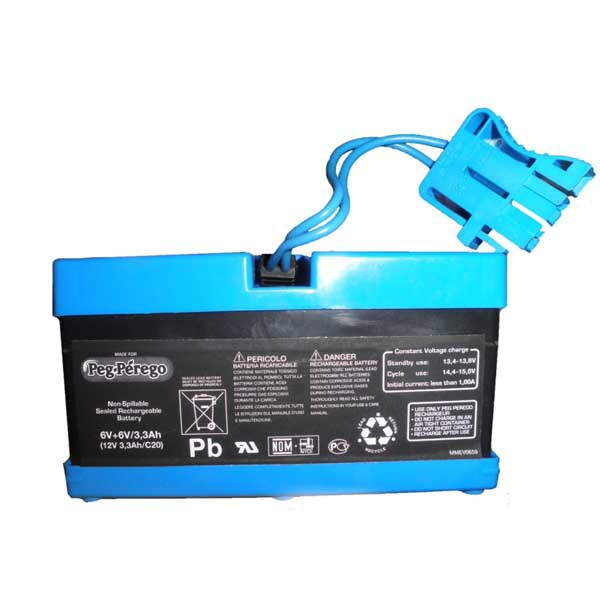 Аккумулятор для детских электромобилей 12B 3.3ah Peg Perego
