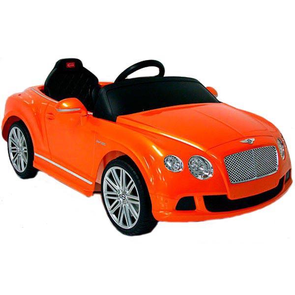 Детский электромобиль на радиоуправлении Rastar Bently Continental GT Orange