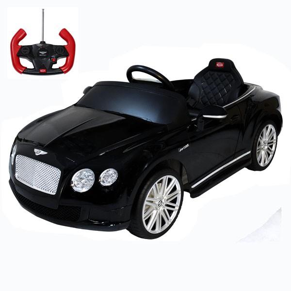 Детский электромобиль на радиоуправлении Rastar Bently Continental GT