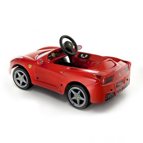 Детская педальная машина Toys Toys Ferrari 458
