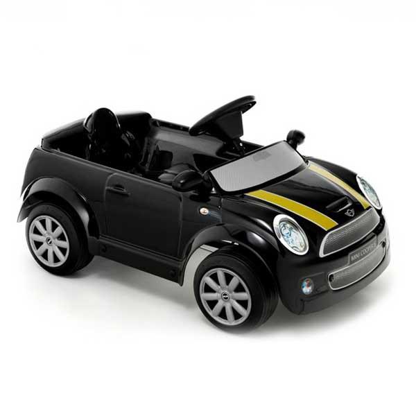 Детский электромобиль Toys Toys Mini Cooper S черный