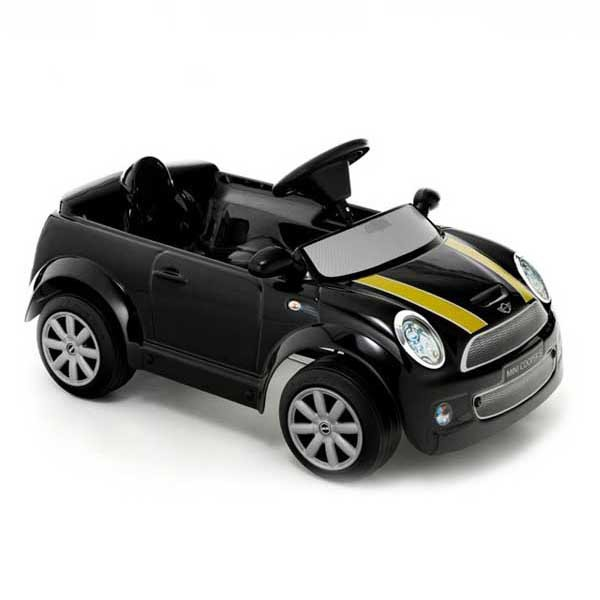 Детская педальная машина Toys Toys Mini Cooper S черный