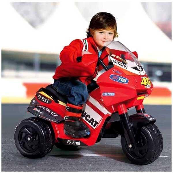 Детский электромобиль Desmosedici Valentino Rossi