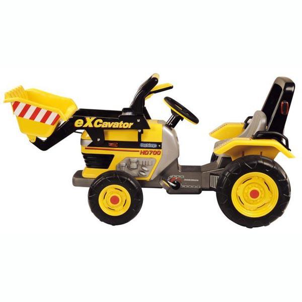Детский педальный трактор Peg Perego Maxi Excavator