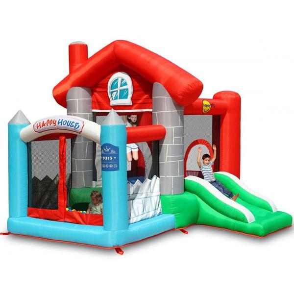 Детский надувной Батут Замок HAPPY HOP 9315