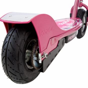 Электросамокат с сиденьем Razor E300S Розовый