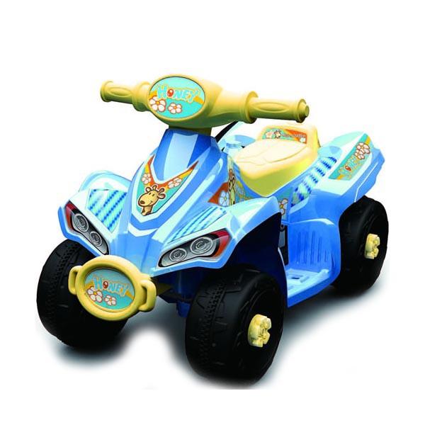 Электроквадроцикл Honey 6v голубой VC353В