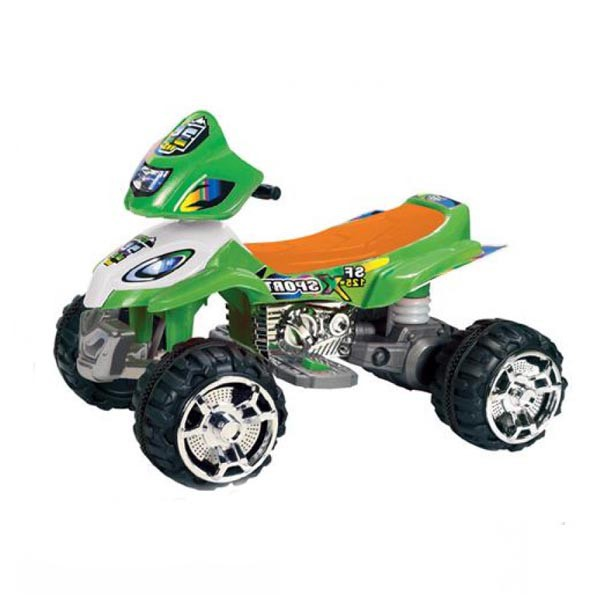 Электроквадроцикл Magic-35 2 мотора по 6v7АН зелёный