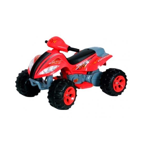 Электроквадроцикл Powerful 6v7АН красный