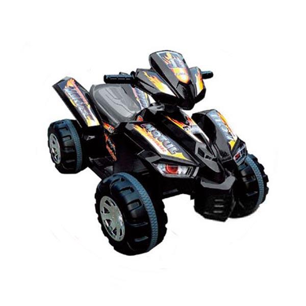 Электроквадроцикл Sport-JC 2 мотора по 6v7АН чёрный