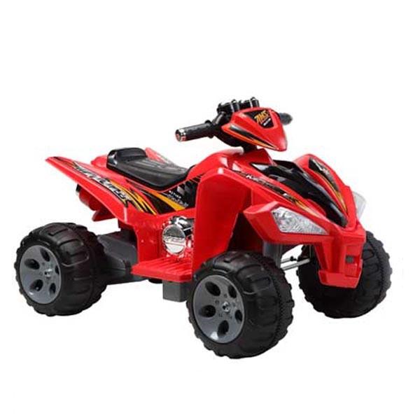 Электроквадроцикл Sport-JC 2 мотора по 6v7АН красный