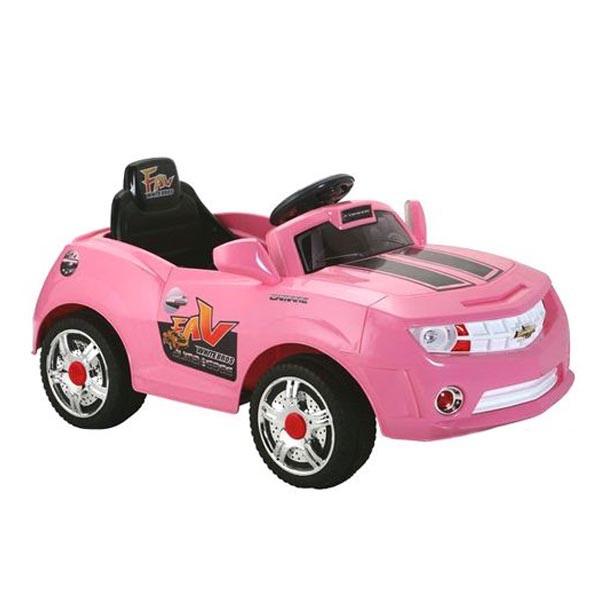 Электромобиль Camare 6V7AH радио управляемый розовый