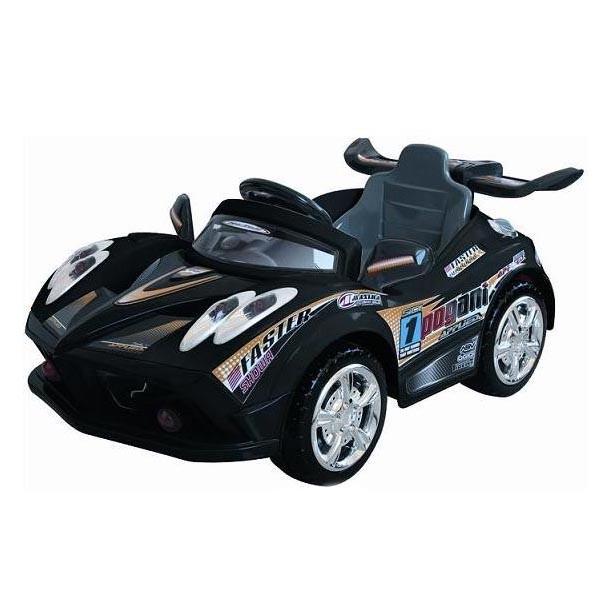 Электромобиль Faster 6V7AH радио управляемый чёрный