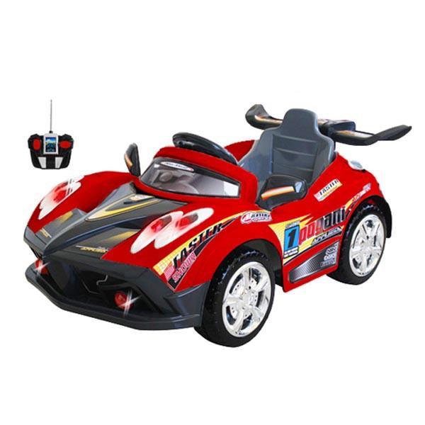 Электромобиль Faster 6v радио управляемый красный