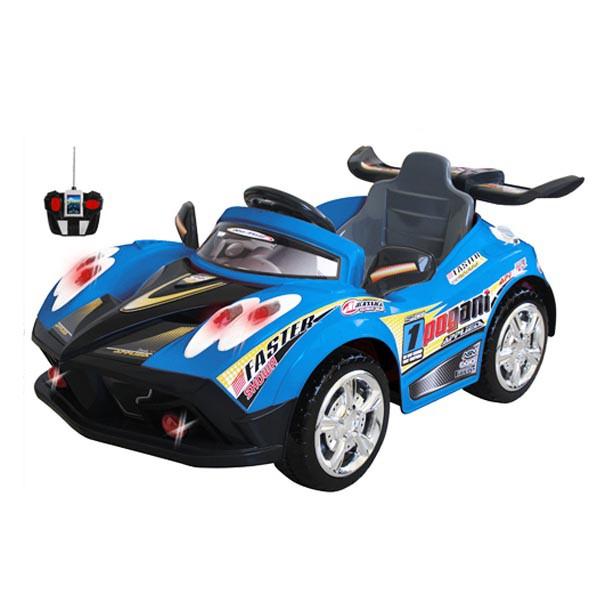 Электромобиль Faster 6v радио управляемый синий