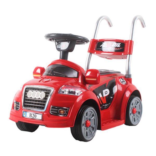 Электромобиль Mini Audi  6v радио управляемый красный