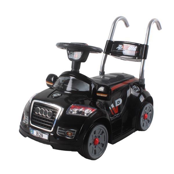 Электромобиль Mini Audi  6v радио управляемый чёрный