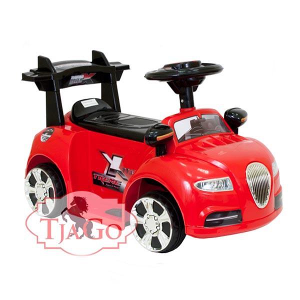 Электромобиль Mini Bentley 6v красный