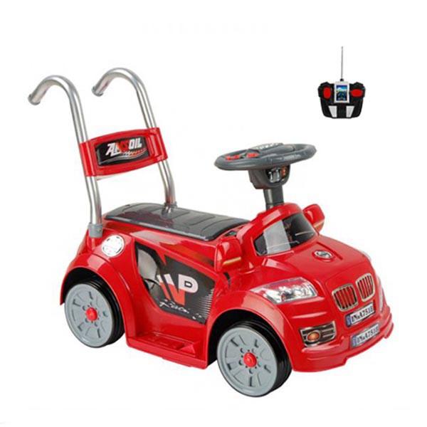 Электромобиль Mini BMW 6v радио управляемый красный