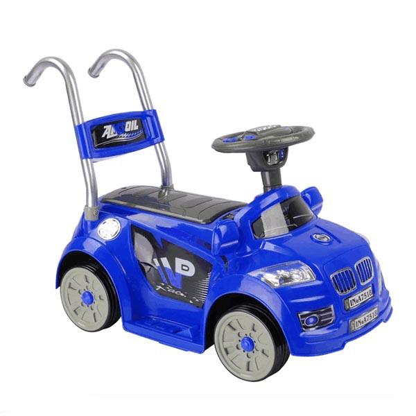 Электромобиль Mini BMW 6v радио управляемый синий