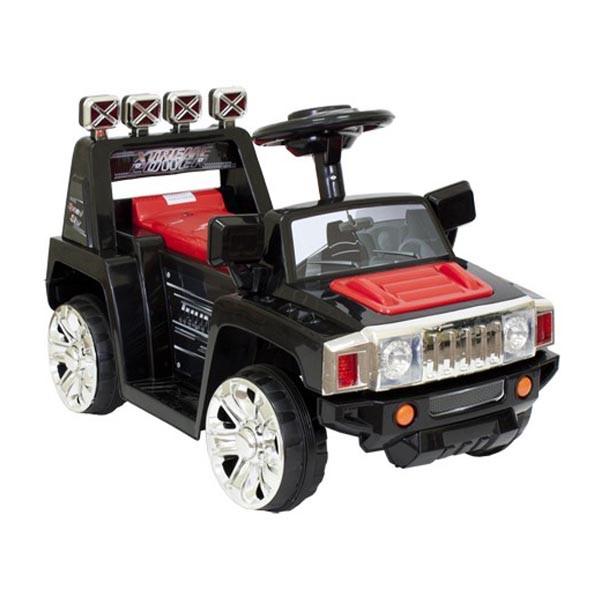 Электромобиль Mini Hummer 6v радио управляемый чёрный