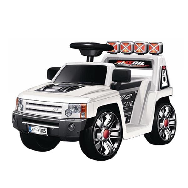Электромобиль Mini Rover 6v радио управляемый Белый