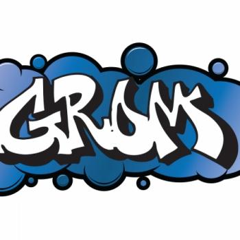 Детский трюковой самокат Razor Grom Синий