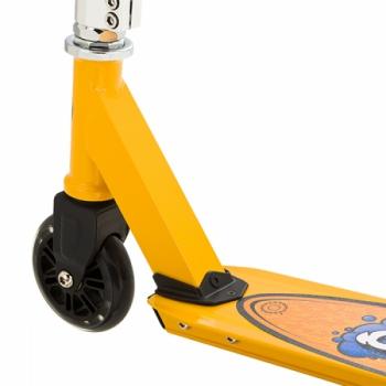Детский трюковой самокат Razor Grom Чёрно-жёлтый