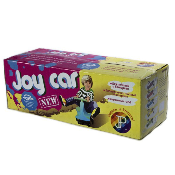 Машинка детская Joy Car красная