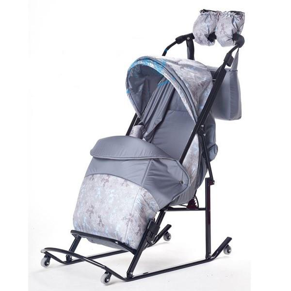 Санки-коляска Kristy Comfort Plus
